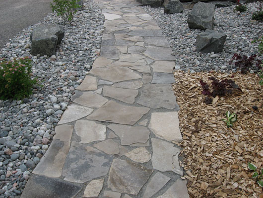 flagstone pathways