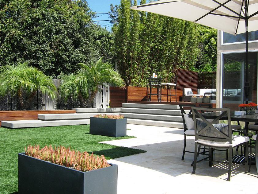 14 Ideas Of Modern Landscape Design For Living House ... |German Contemporary Landscape Architecture
