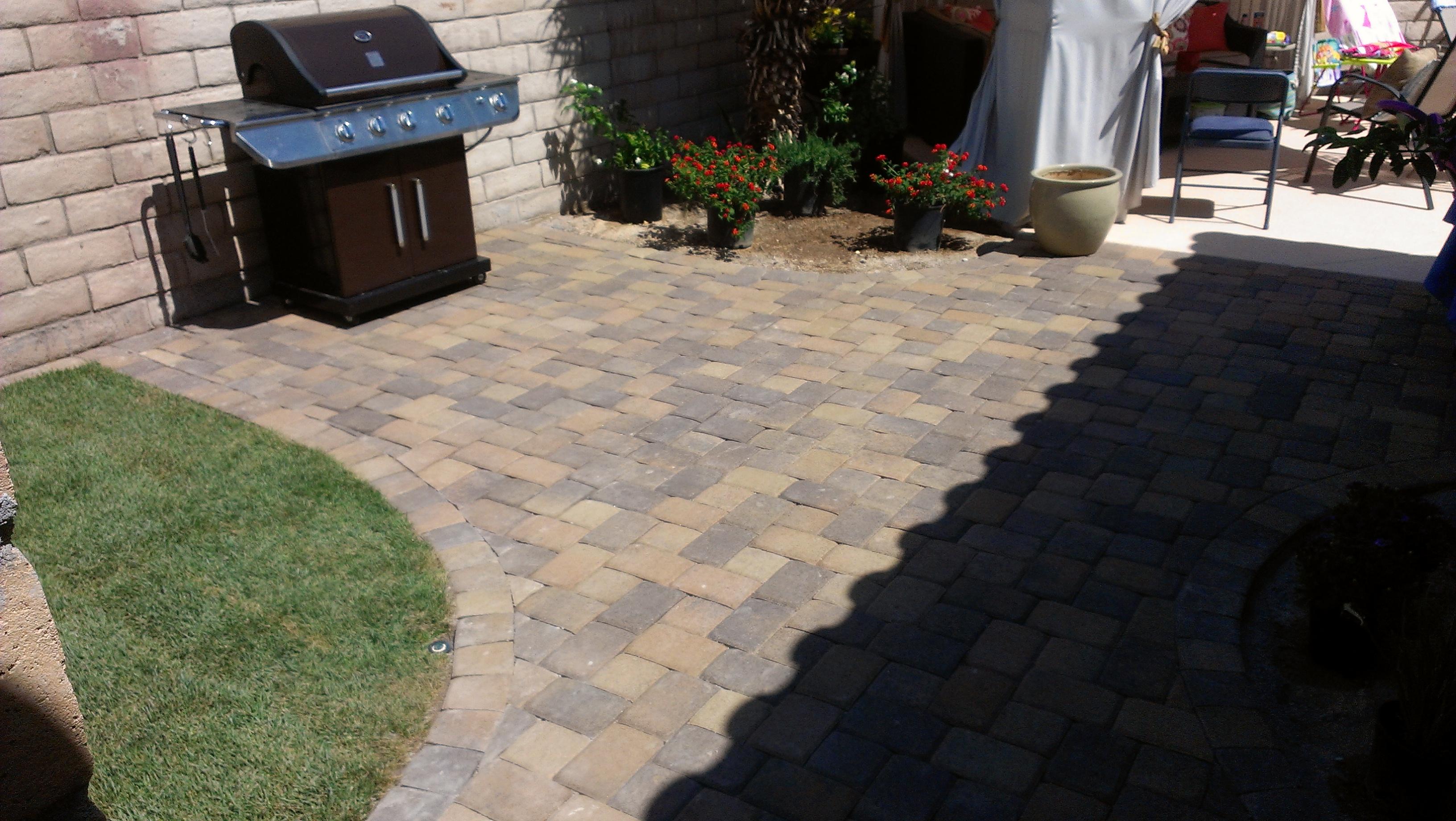 pavestone pavers plaza stone sierra blend