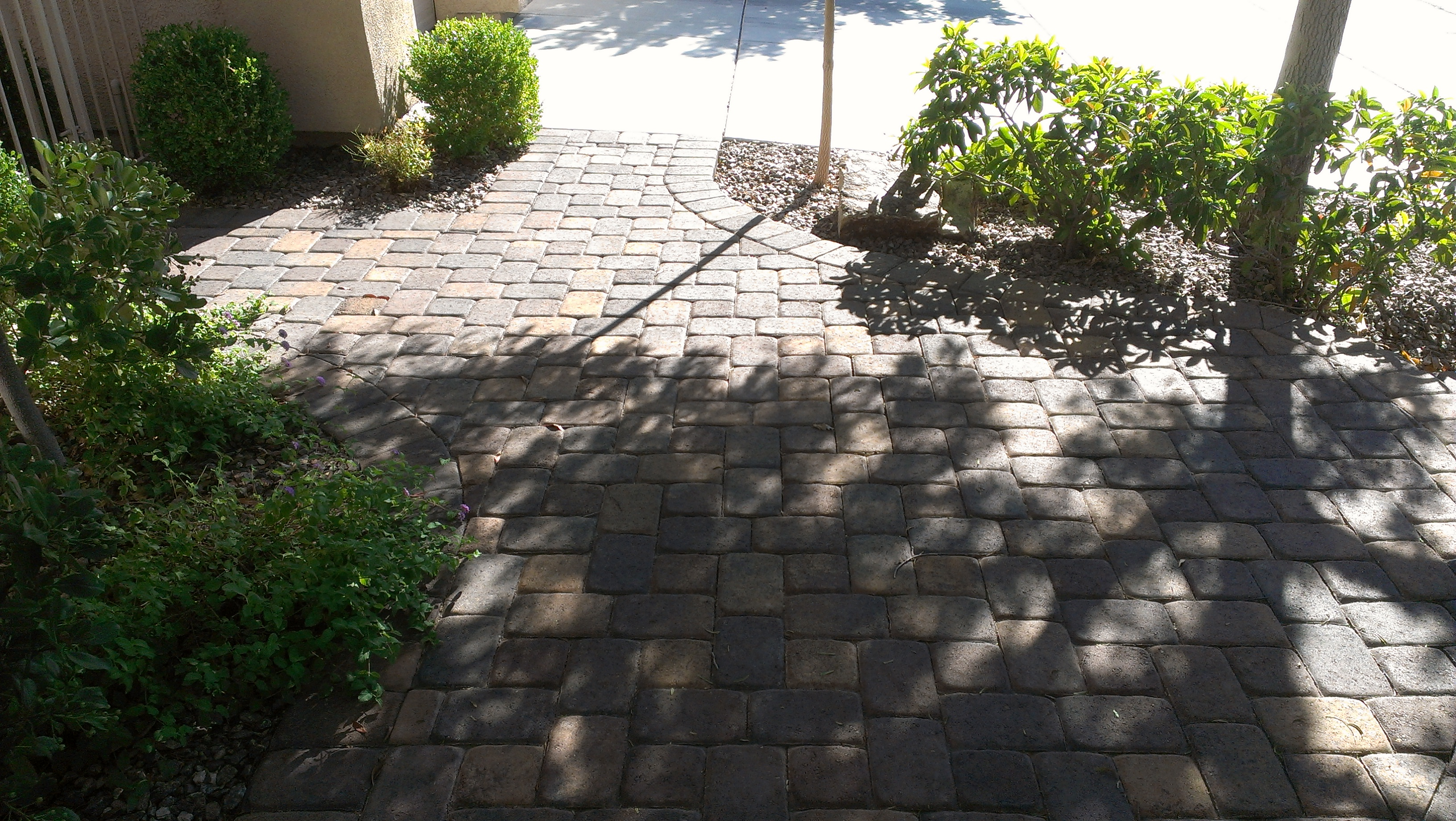pavestone pavers old town blend